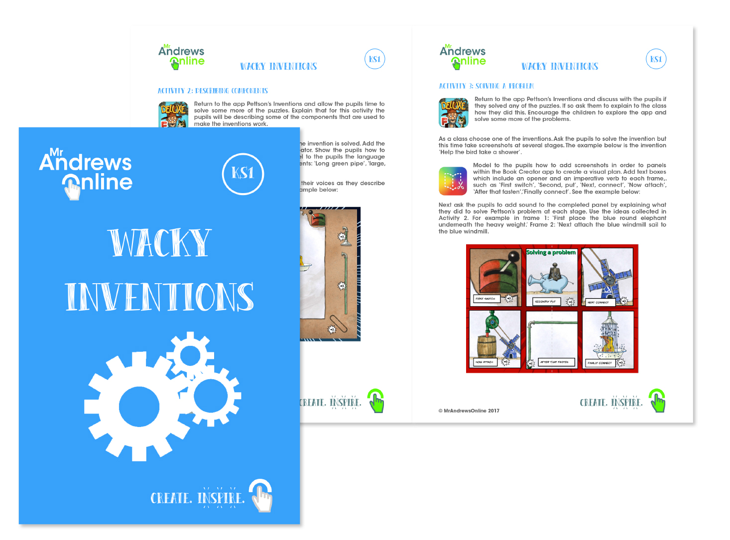 New Project: Wacky Inventions - Mr Andrews Online